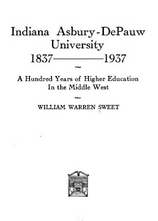 College History Garden History Of Depauw University