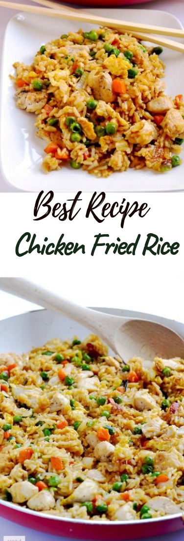 Chicken Fried Rice #dinnerrecipe #food