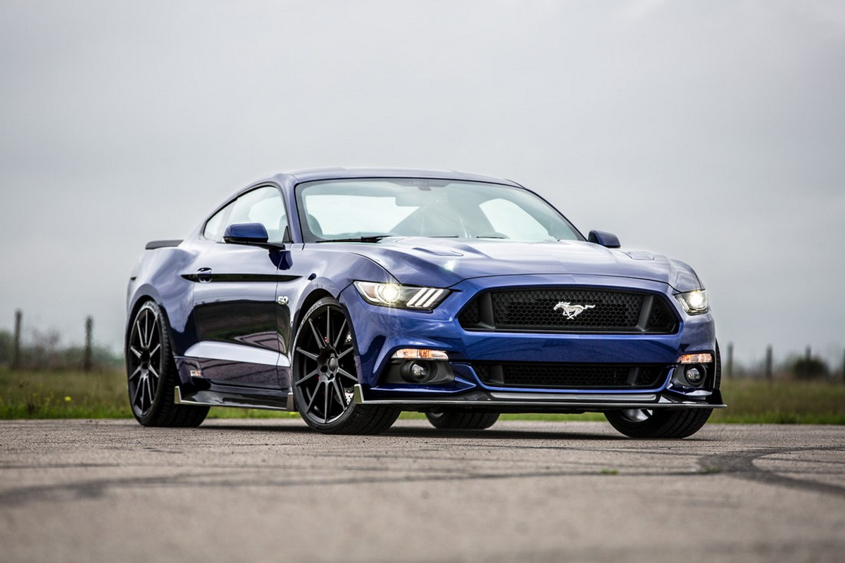 Hennessey's Ford Mustang HPE750 Does Look Good In Its New Carbon Suit