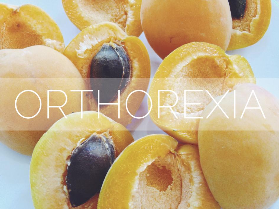 What is orthorexia nervosa