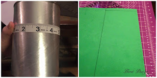 How To make cover for a recycled Minecraft Creeper fan desk organizer pen cup or can.