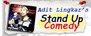 Stand Up Comedy Adit Lingkar