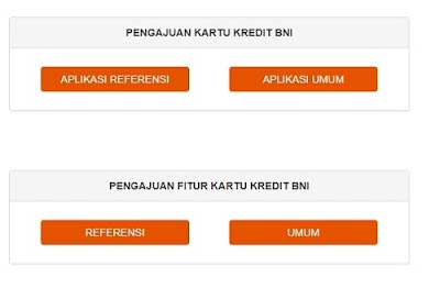 Apply Kartu Kredit BNI Online