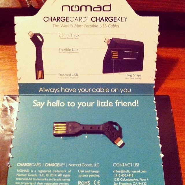 Review Nomad Chargekey Portable Lightning Cable