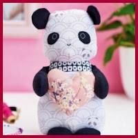 Panda de tela