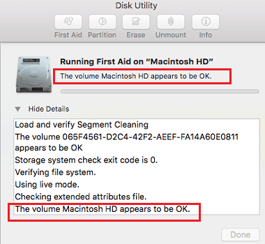Run Disk Utility to Fix Slow Mac after upgrade to macOS Sierra -1
