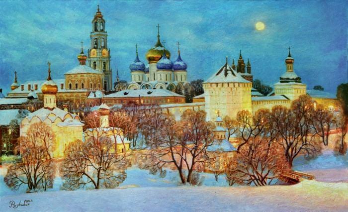 Российский художник. Игорь Разживин