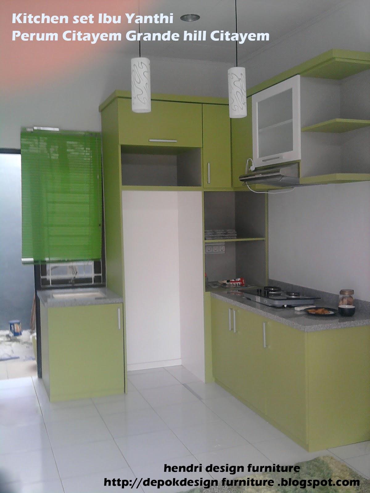 Depok Design Furniture Galarie Hendri Design Kitchen Set
