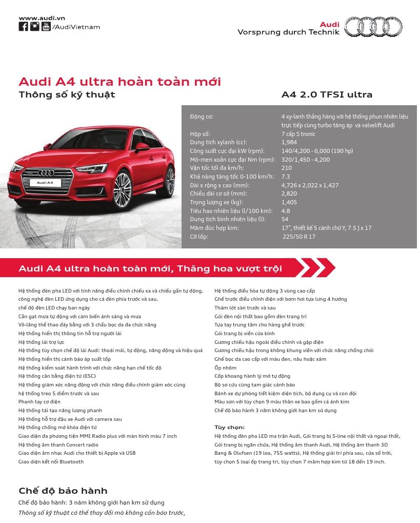 Audi A4 Doi Moi 2018