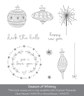 Season of Whimsy Hostess Stamp set