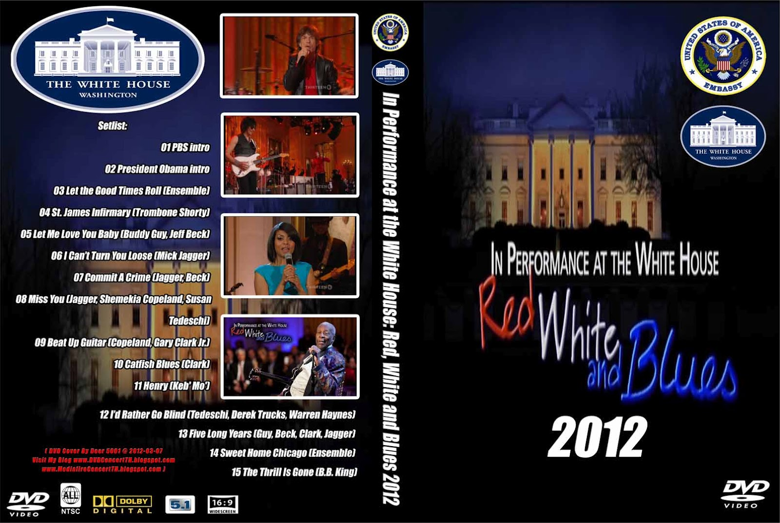 Mediafireconcertth In Performance At The White House Red White