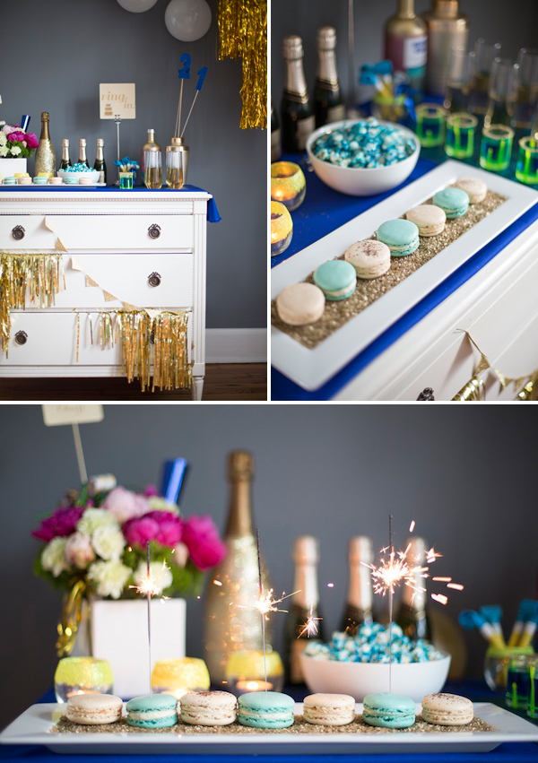 This New Year S Eve Dessert Table By Gray Harper Event Maker Puts All These Tips Into Play It Every Bit Gorgeous Without Having 20 Desserts