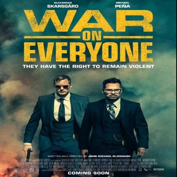 War on Everyone, War on Everyone Synopsis, War on Everyone Trailer, War on Everyone Review