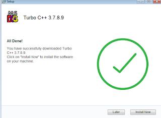 how to install turbo c or c plus plus in 64bit virsion