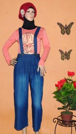 Celana Jeans Kulot Fashion CKJ209