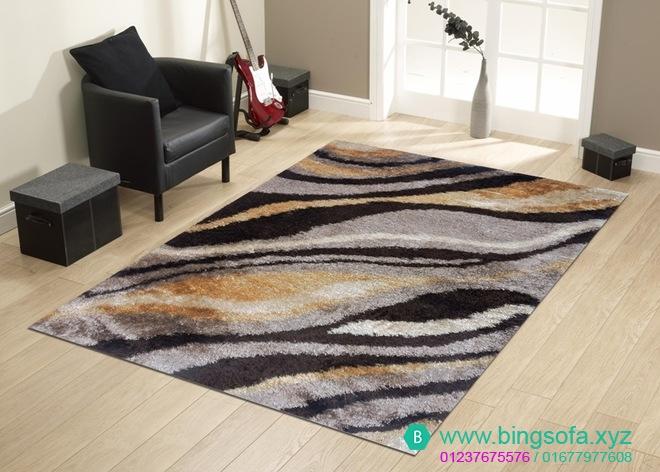 Thảm lông xù phòng khách giá rẻ