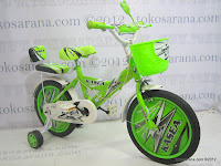 3 Sepeda Anak Kasea 12D R300 16 Inci