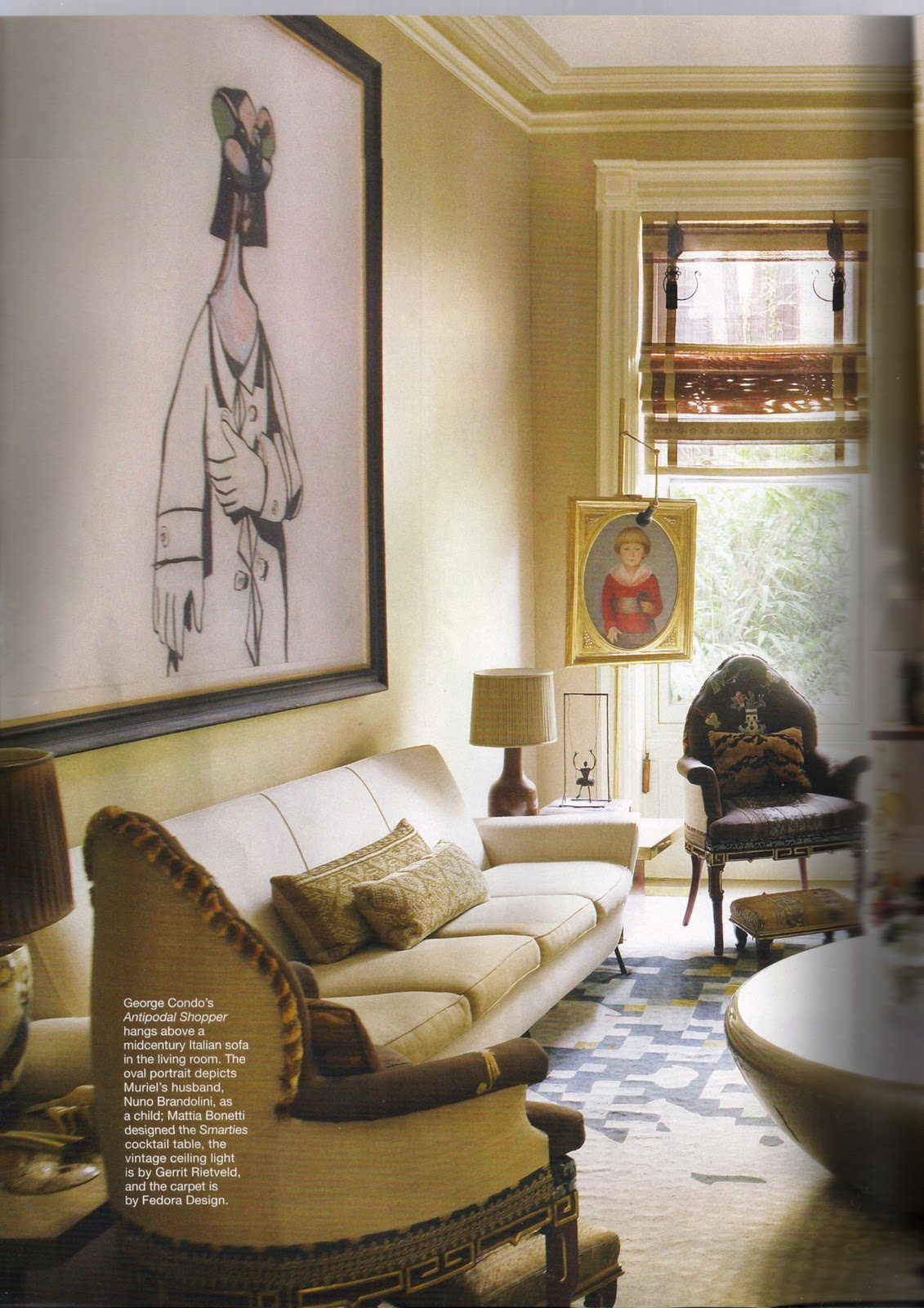 Interior Design Of Living Room With Balcony: US Interior Designs: MURIEL BRANDOLINI