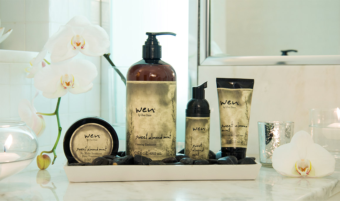 wen, conditioner, chaz dean, cleansing conditioner, sweet almond mint, wen hair,