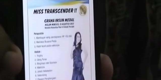 Ulama, Ormas dan Tokoh Adat Tolak Rencana Kontes Miss Transgender di Hut RI
