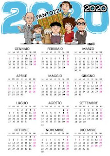 Calendario 2020 Fantozzi - Acquista
