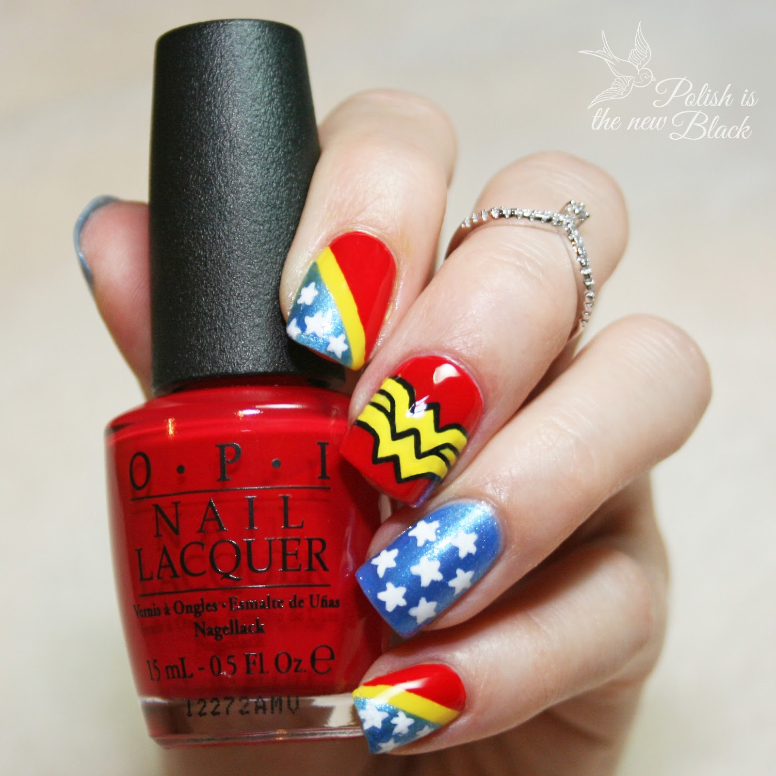 Nails Wonder Woman Can Nail Art Be Feminist: Polish Is The New Black
