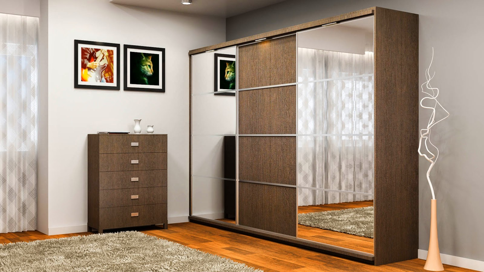 Bedroom Wardrobes   Interior Decor Blog - Customfurnish.com