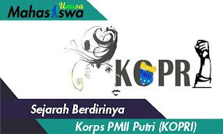 sejarah kopri pmii