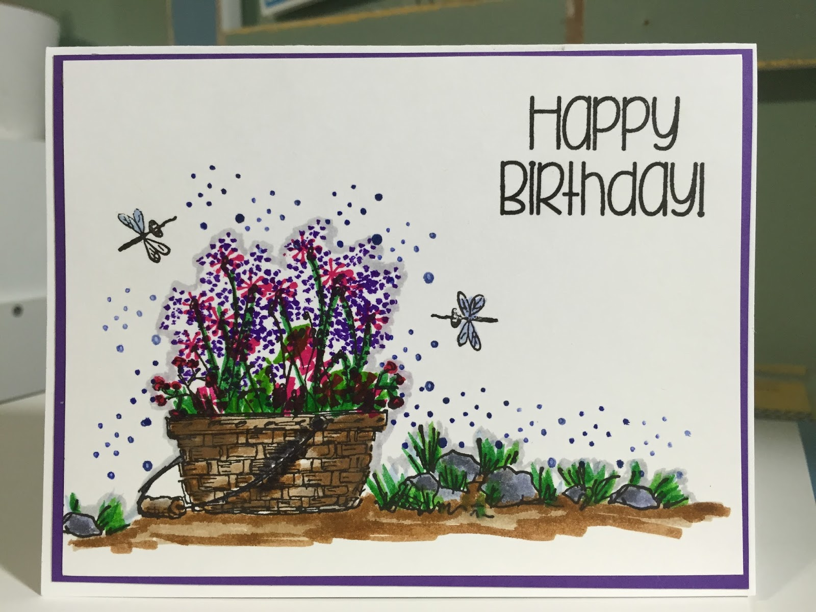 Just Stopping By To Say Happy Birthday: Scrapbooking And Cardmaking 101: Happy Birthday With