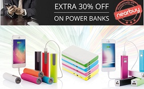Power Banks – Upto 70% Off + Extra 30% Off @ Nearbuy