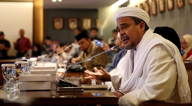 Habib Rizieq Shihab Resmi Tersangka Penodaan Pancasila