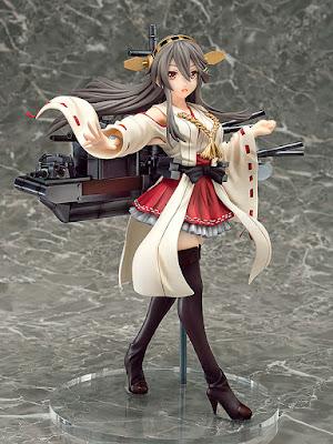 """Figuras: Anunciada la preciosa figura de Haruna de """"Kantai Collection -KanColle-"""" - Phat!"""