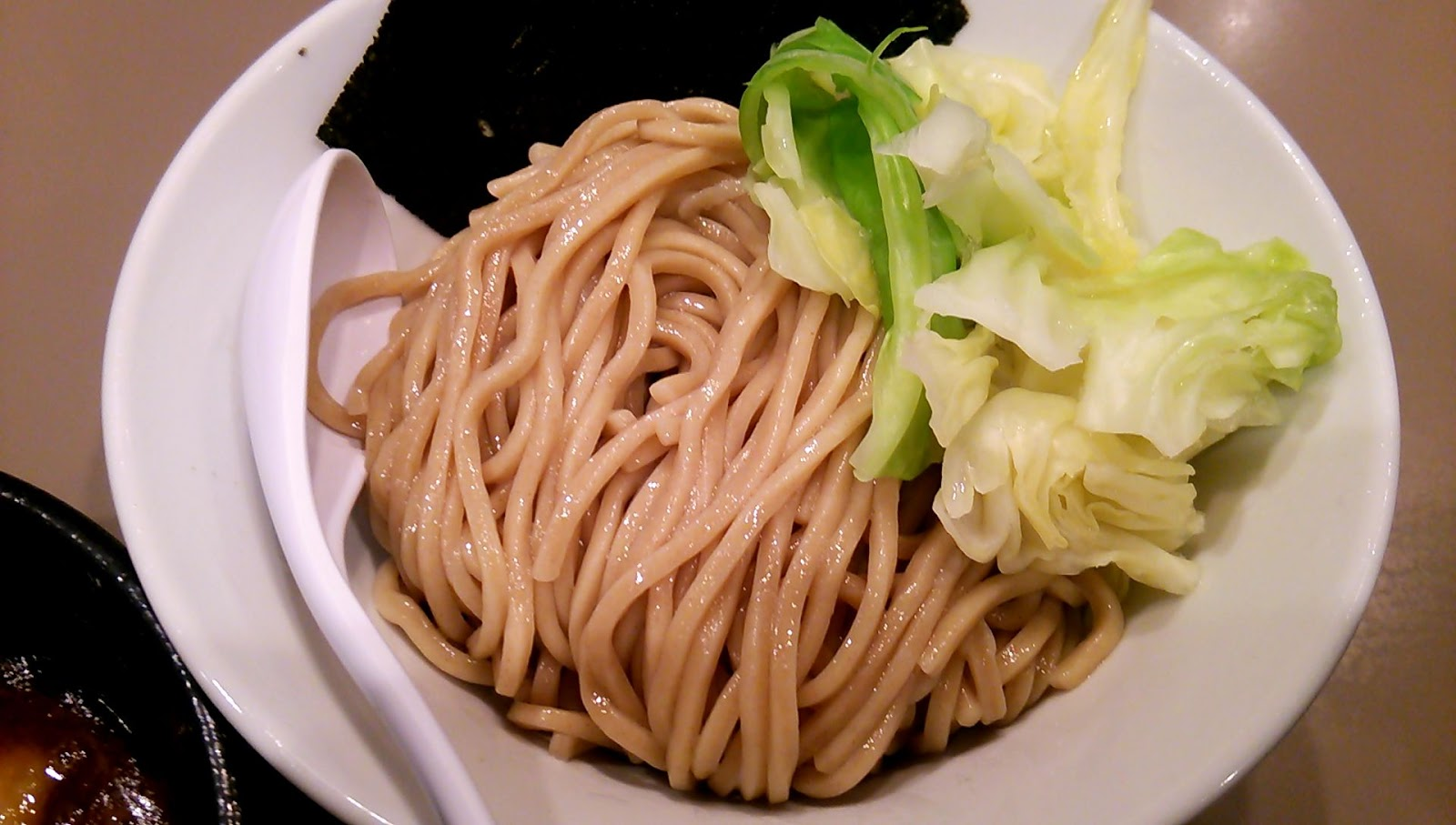 以上、レポっす。: 2015/1/8 海老つけ麺(つけ麺 五ノ神製作所 ...