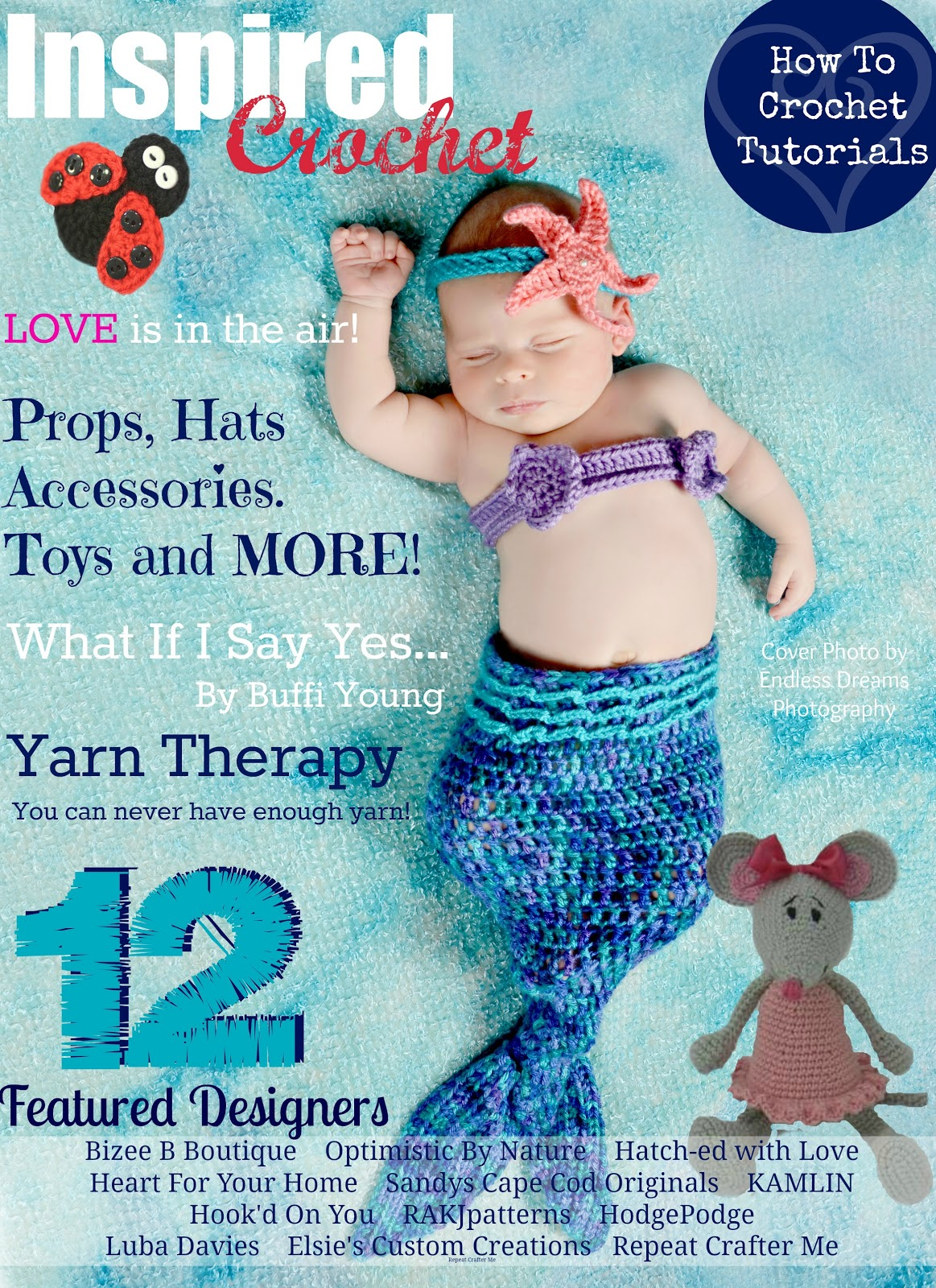 Inspired crochet magazine featured pattern repeat crafter me i have teamed up with inspired crochet magazine to bring you a new crochet pattern that is perfect for your little love bug this pattern is currently only bankloansurffo Choice Image