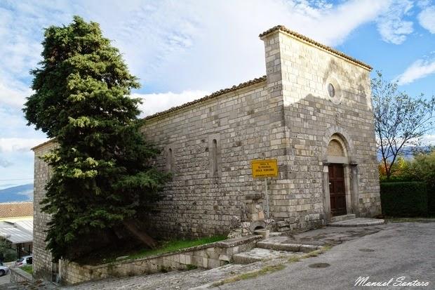 Pescosansonesco. Chiesa di S. Maria della Blesiana