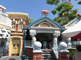 Mickey's Toontown Bank