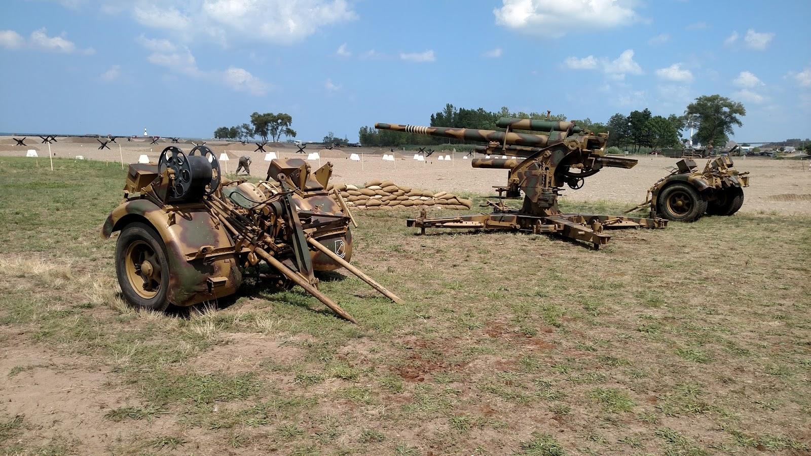 Battleground Hobbies: WW2 D-Day Reenactment at Conneaut Ohio!