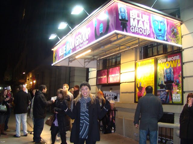 NEW YORK - SHOW DO BLUE MAN GROUP