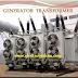 محول الرفع الرئيسي  في شبكة النقل الكهربائية Step up Transformer