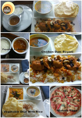Taman Sari. Hotel Istana, A LA CARTE Food Menu Pictures- Chicken Dum Biryani, Mahalo Pizza, Vegetable Dhal Rice