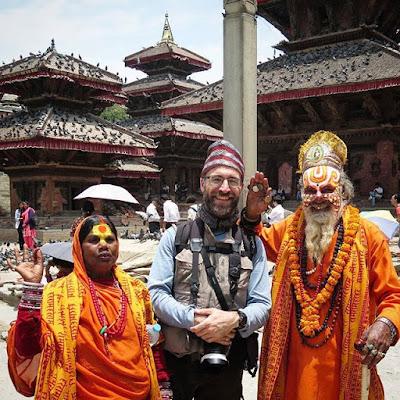 Entre santones en Katmandú