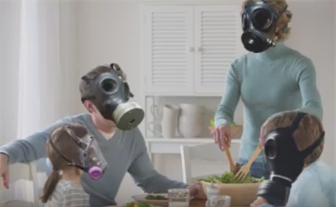 pencemaran udara di dalam ruangan
