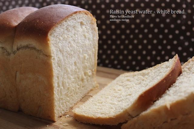 葡萄干天然酵母液 - 白面包