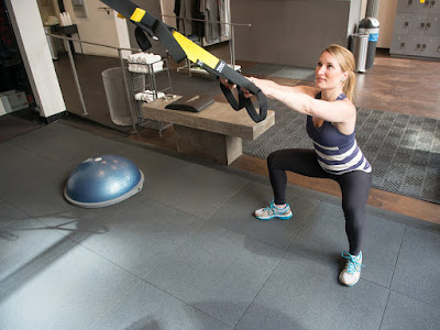 TRX Basic Squats