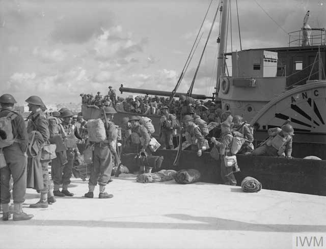 British troops arriving at Malta, 27 January 1942 worldwartwo.filminspector.com