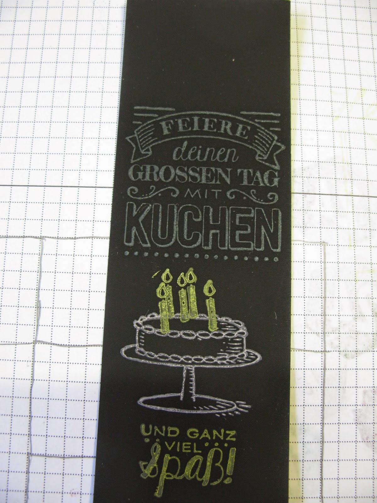 Stampin mit scraproomboom sneak peek neue kreidetinte for Tafel papier