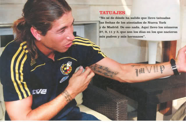 tattoo styles for men and women sergio ramos best soccer
