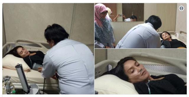 Rieke Diah Pitaloka Terbaring di RS dengan Alat Bantu Pernapasan, Netizen Kirim Doa
