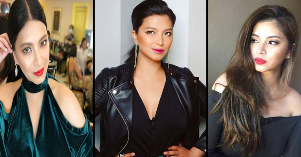 Angel Locsin Was Among The Celebrities Who Were Considered As Good Role Models For Young Pinays