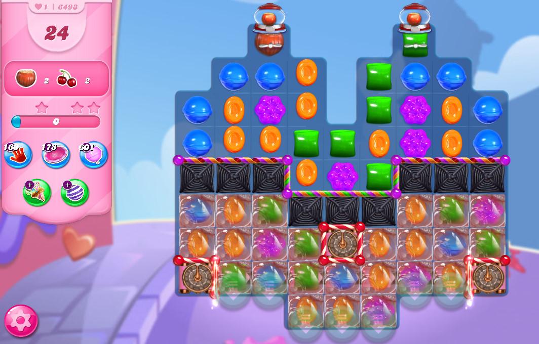 Candy Crush Saga level 6493
